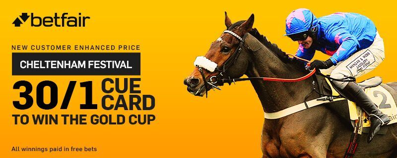 Betfair Cheltenham Gold Cup Enhanced Odds Offers 18 March 2016