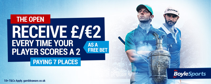 Open Championship Betting Offers