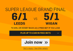 Betfair Grand Final Offer