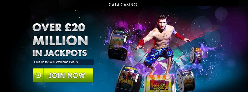gala casino deposit 20 play with 100
