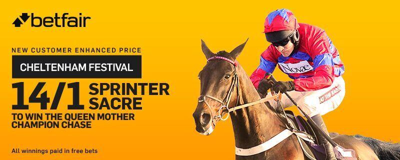 Betfair Sprinter Sacre 14/1 Cheltenham Festival Enhanced Odds Offer