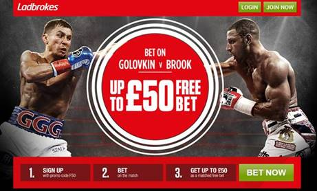 Golovkin v Brook betting offers, tips, enhanced odds betting offers