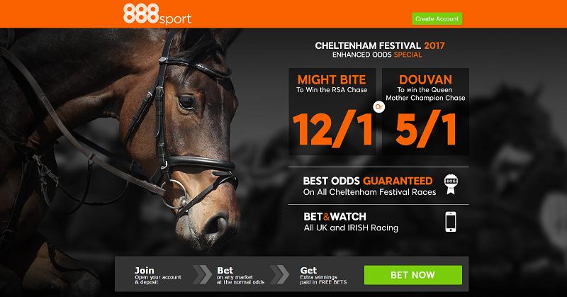 888sport Cheltenham Festival Day Two Enhanced Odds Offers