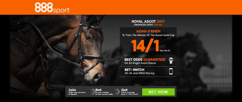 888sport Royal Ascot Aidn OBrien Offer