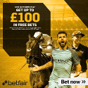 Betfair £100 in Free Bets Offer