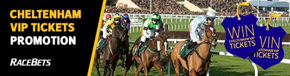 RaceBets £50 Free Bet and Cheltenham Festival VIP Tickets Offer