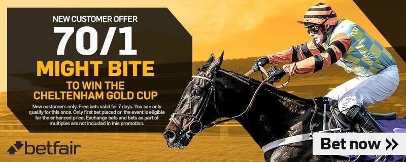 Betfair 70/1 Might Bite Offer Cheltenham Festival 2018 Day Four