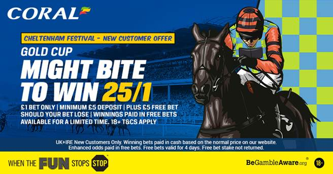 Coral Cheltenham Betting Offer