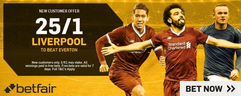 Merseyside derby betting odds irb player of the year betting on sports