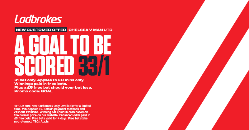 Ladbrokes FA Cup Final Offer Goal to be Scored