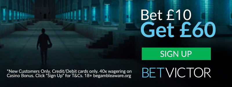 BetVictor Bet £10 get £60 Free bets and Bonus