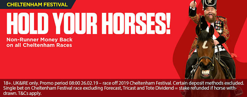 Ladbrokes Cheltenham Offers Non Runner Money Back