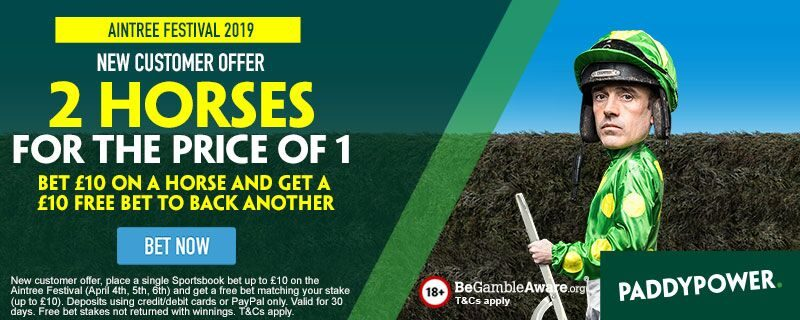 Paddy Power £10 Free Bet Grand National Offer 2019