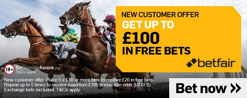 Betfair £100 in Free Bets Offer 2020