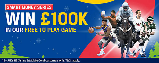 Coral £100,000 Prize Competition Christmas 2019